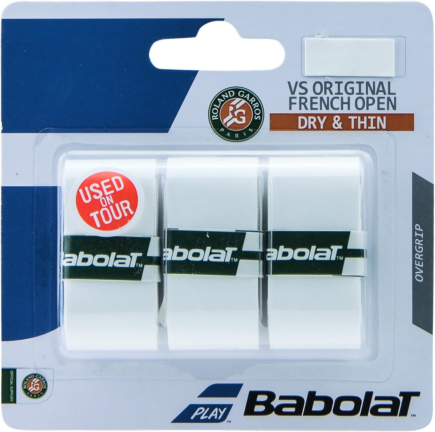 PACK OF 3 BABOLAT MY GRIP OVERGRIP