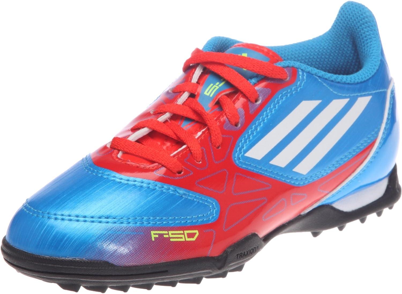 Adidas TF F5 TRX J, Zapatillas de fútbol para niño, Azul (Bleu (Blepre/Blanc/enemat)), 38: Amazon.es: Zapatos y complementos