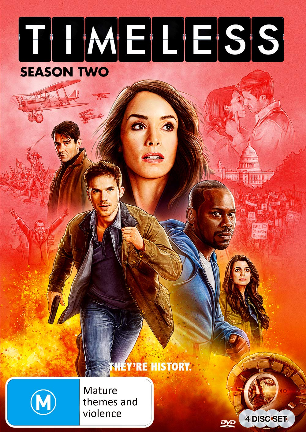 Timeless - Season 2 plus Finale (The Miracles of Christmas)
