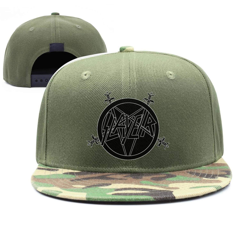 Caps LONGAY Unisex Mesh Hip-Hop Cap Slayer-Logo-Symbo