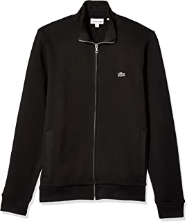 Lacoste Mens Lightweight Harrington Cotton Twill Jacket at ...