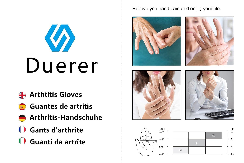 senza dita mano pollice del tunnel carpale guanti per RSI Small Medium Large XL per alleviare il dolore donne uomini Rheumatiod artrite guanti di compressione Duerer tendinite