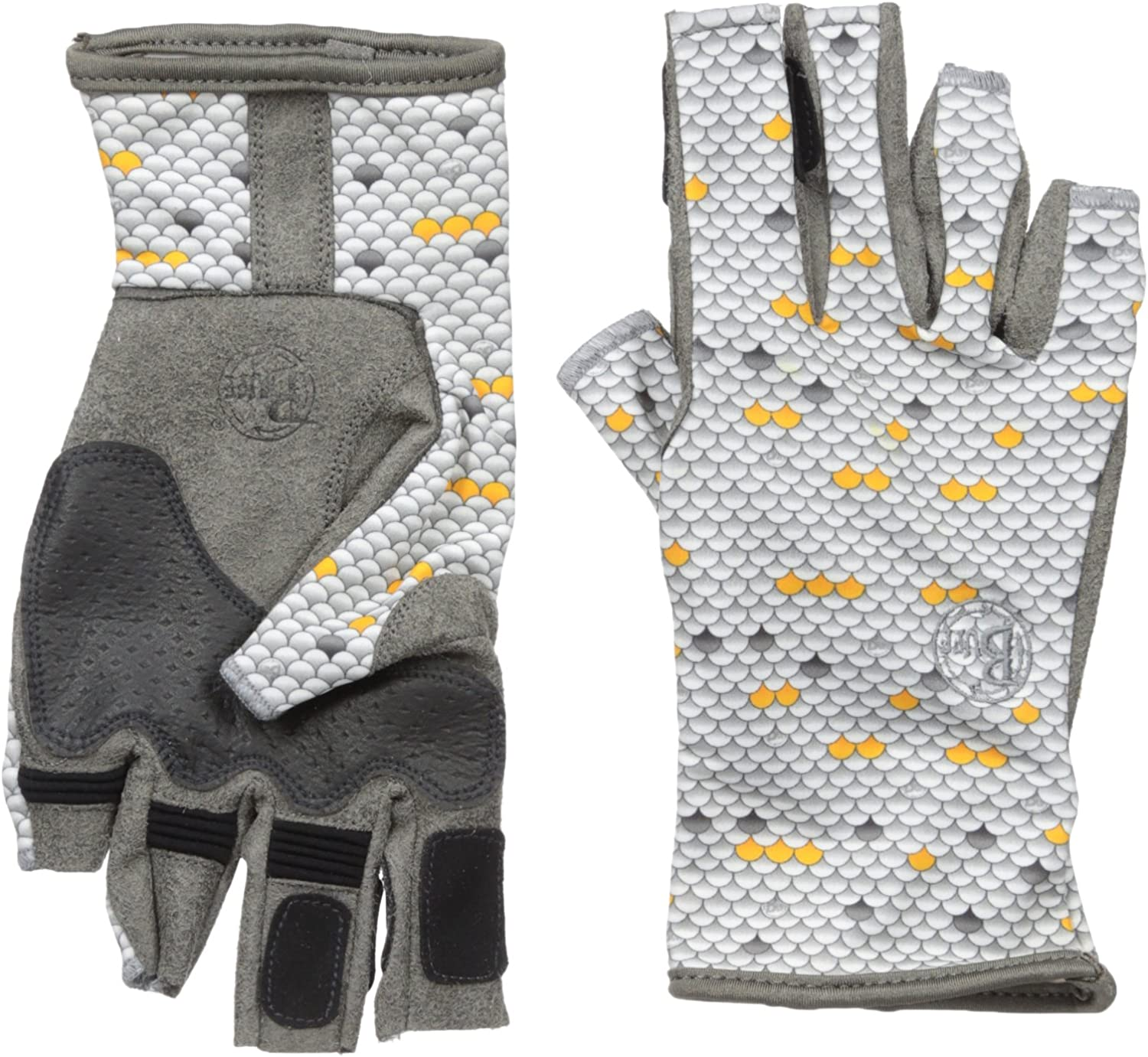 Fishing Gloves BUFF Solar Gloves Sun Protection for Fresh /& Saltwater Fishing