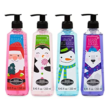 10 oz Vanilla Frost Scented Hand Soap Snowman Pump Dispenser Kitchen//Bath NEW