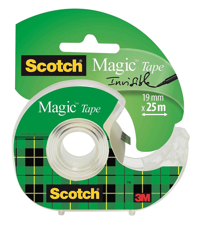 2 Rollen Klebeband Scotch 3M Magic 12mm x 33m Matt /& Unsichtbar 0,12 EUR//m