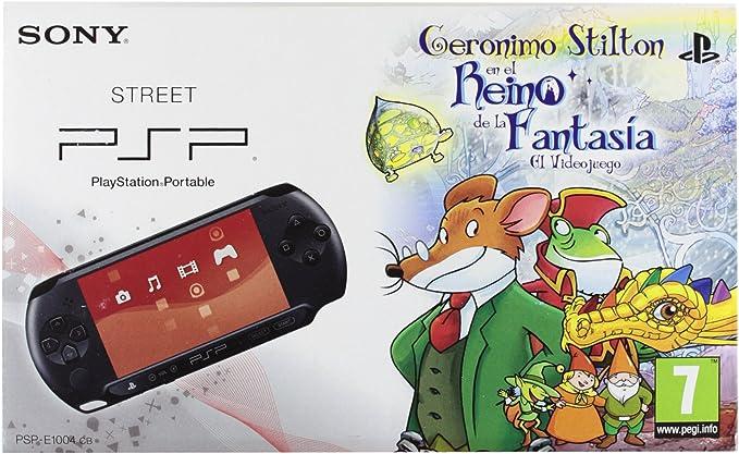 PSP Pack Geronimo Stilton+PSP E1000: Amazon.es: Videojuegos