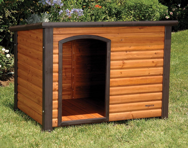 amazon com precision pet extreme log cabin large dog houses