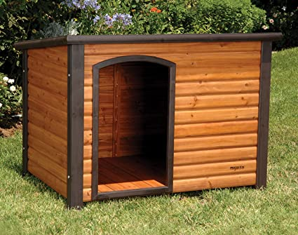 Amazoncom Precision Pet Extreme Log Cabin Medium 445 in x 264