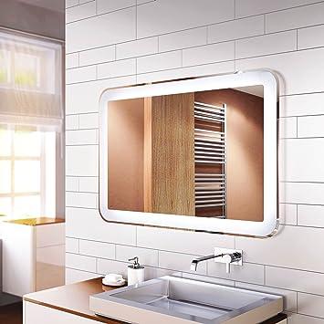 Spiegel Mit Led Innenbeleuchtung Design Linie De 1200x700 Mm