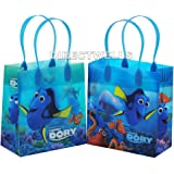 Disney Pixar Finding Dory with Nemo 12 Pcs Goodie Bags Party Favor Bags Gift Bags Birthday Bags