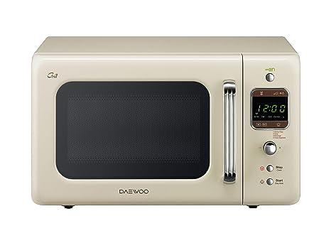 Daewoo KOG-6LBC Forno a Microonde con Grill 20 Litri, 700 watt ...