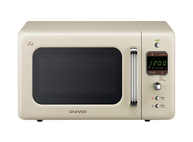 Daewoo KOG-6LBC Forno a Microonde con Grill 20 Litri, 700 watt, Beige