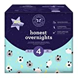 Amazon Price History for:Honest Overnight Baby Diapers, Club Box, Sleepy Sheep, Size 4, 54 Count
