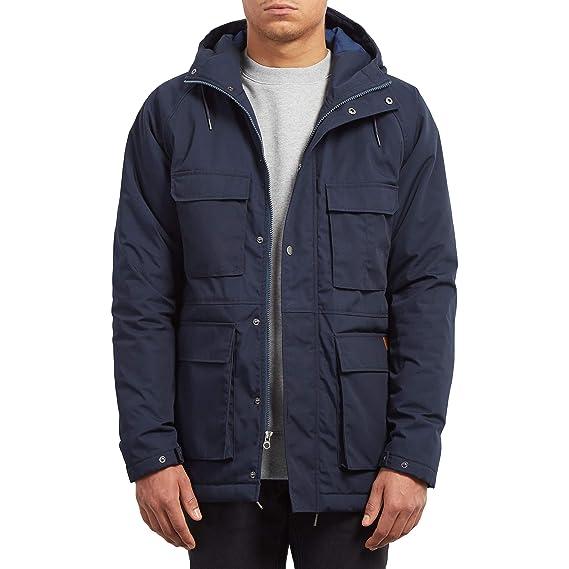 Volcom Mens Renton Heavy Weight Winter Parka Jacket