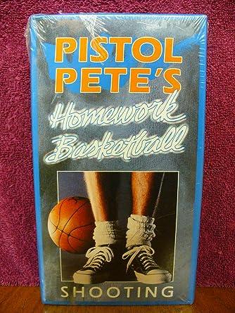 pete maravich homework basketball shooting