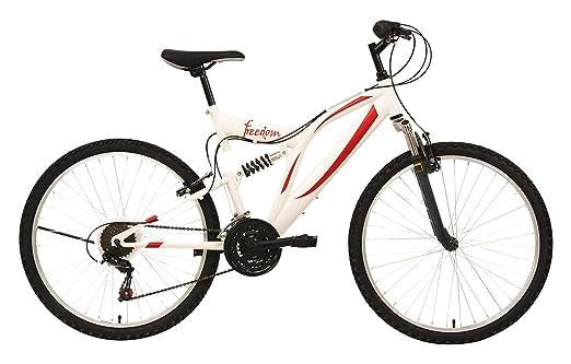 """65 opinioni per F.lli Schiano Mountain Bike Freedom Bicicletta Biammortizzata, telaio 26"""","""