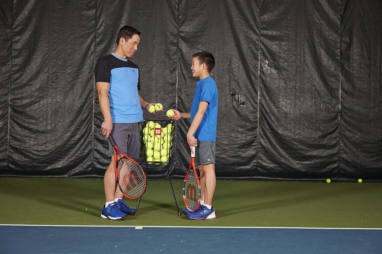 Amazon.com: Wilson - Hopper de pelota de tenis (75 unidades ...