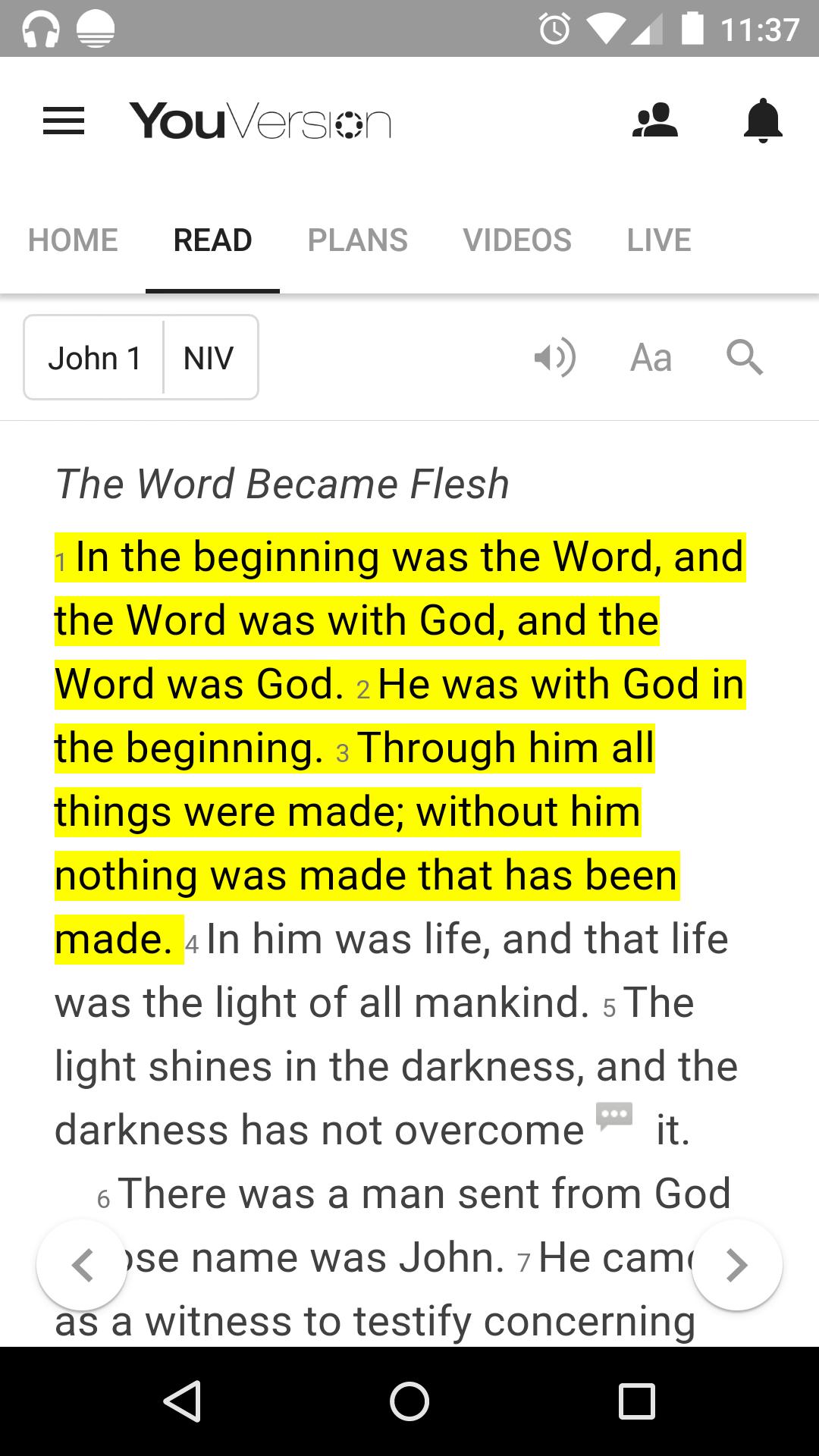 Life Church Bible Image 2