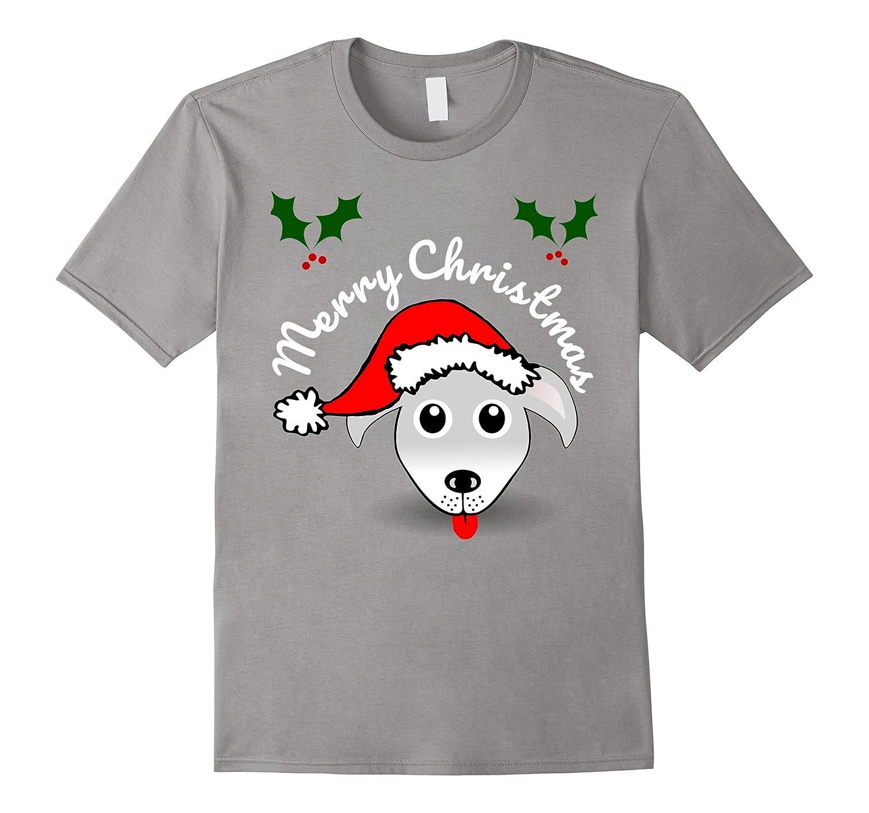 Christmas Shirts for Holidays for Kids - Santa Dog Hound Tee-ANZ ...