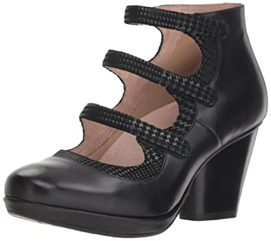 ae0a663f6ced Dansko Women s Marlene Ankle Boot Black Burnished Calf 36 M EU (5.5-6 US