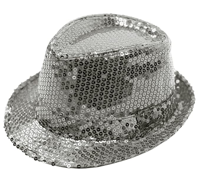 f5af5d8a8a1 Unisex Punk Rock Glittery Sequin Hat  Show Dance Party Jazz Cap (Model   Br010045) (Adult