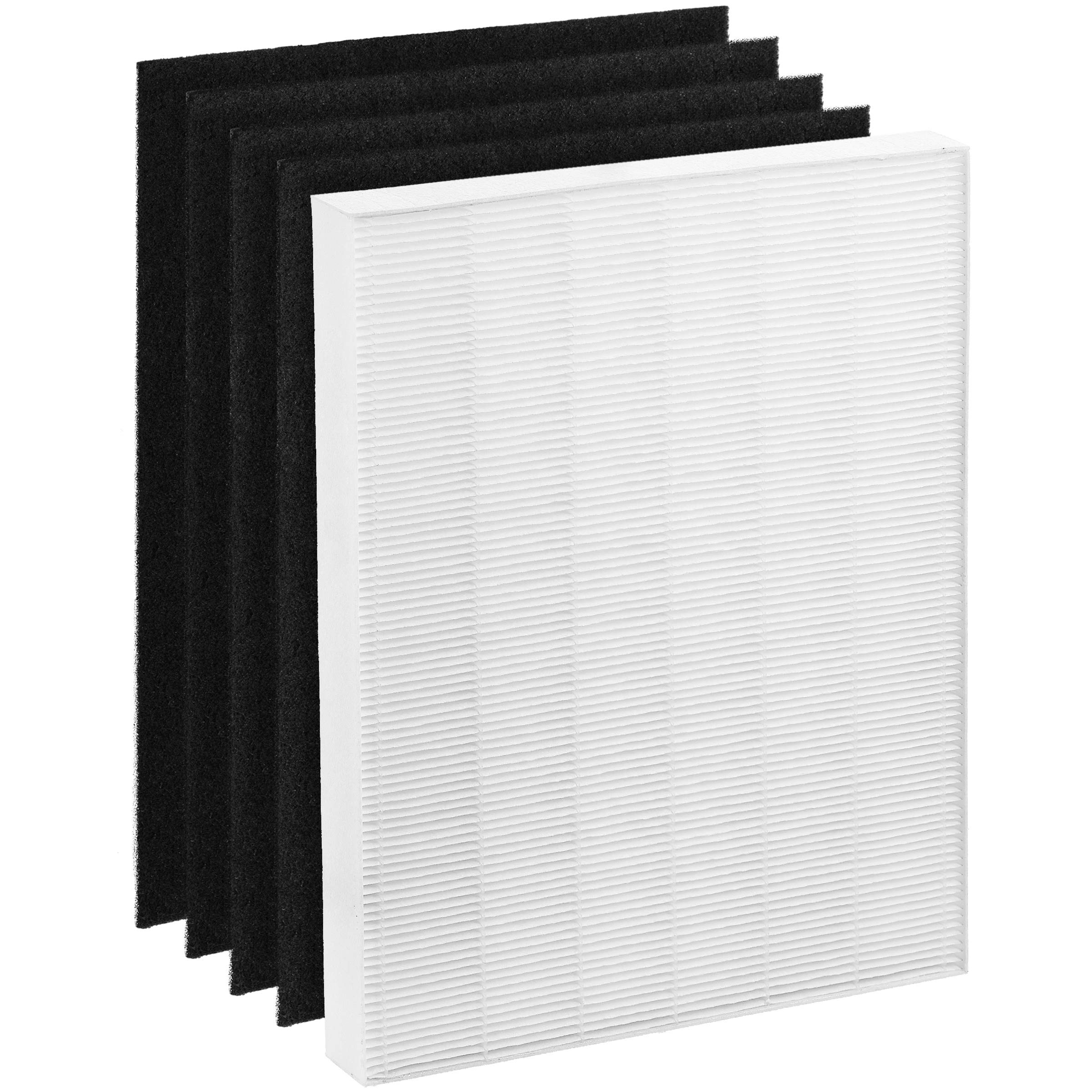 Altec Filters HEPA Premium Quality Replacement Filters Plus 4 Activated Carbon Prefilters Compatible for Winix PlasmaWave 115115 Air Purifier Size 21 Filter A 5300 6300 5300-2 6300-2 P300 C535 by ALTEC FILTERS ADVANCED TECHNOLOGY