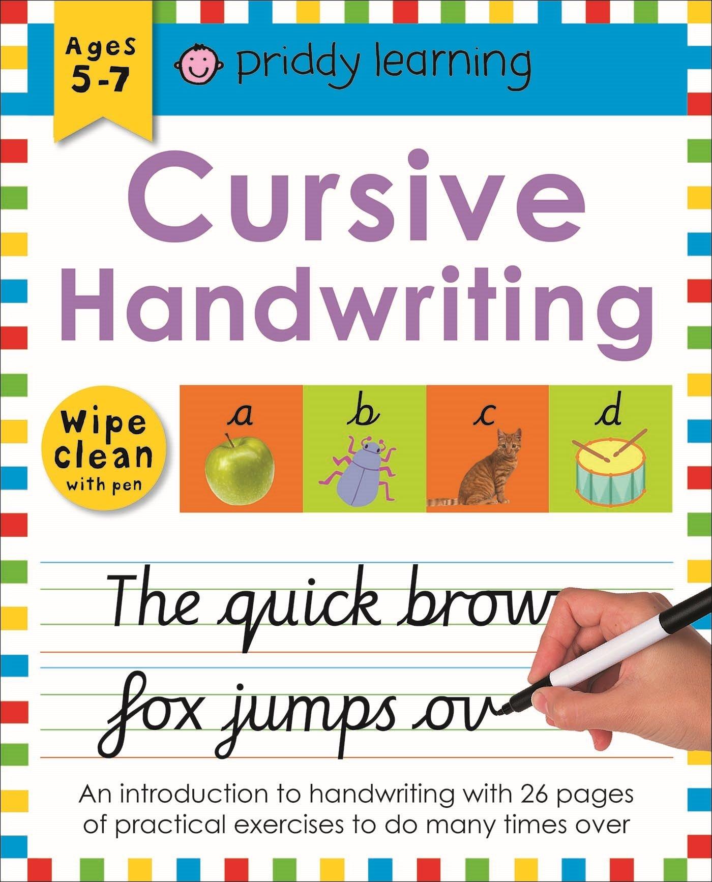 Cursive Handwriting (Wipe Clean Workbooks): Amazon.co.uk: Roger ...