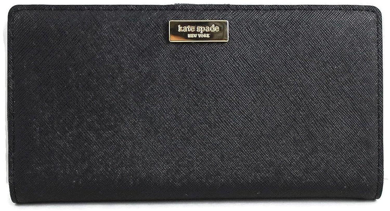 9de5bb8de2c9 Kate Spade New York Laurel Way Stacy Saffiano Leather Wallet (Blk)... at  Amazon Women s Clothing store