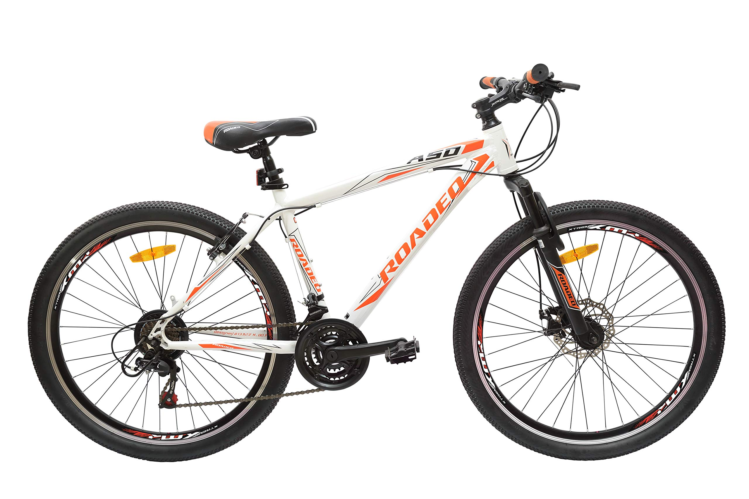 Hercules Roadeo A50 26T 21 Speed Premium Geared Cycle(Stone White) product image