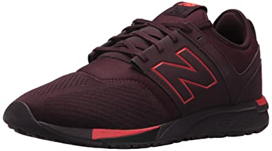 New Balance Mens MRL247BP, Chocolate Cherry with Red, ...