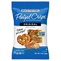 Deals on 8-Pack Snack Factory Pretzel Crisps Original Flavor 3 Oz