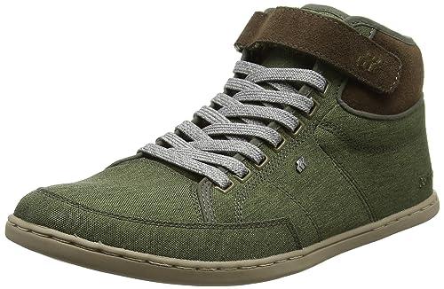 BoxfreshSwich - Zapatillas Altas Hombre, Color Verde, Talla 38: Amazon.es: Zapatos y complementos