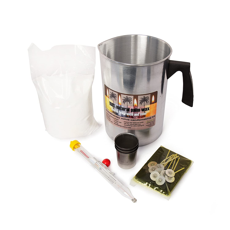 Palm Candle Making Pour Pot Kit