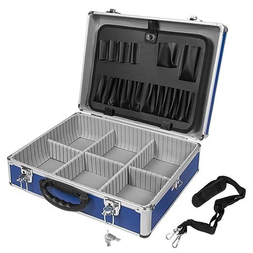 4 opinioni per Varo PRM10102_VS- Valigetta per utensili, in alluminio, colori assortiti Blu