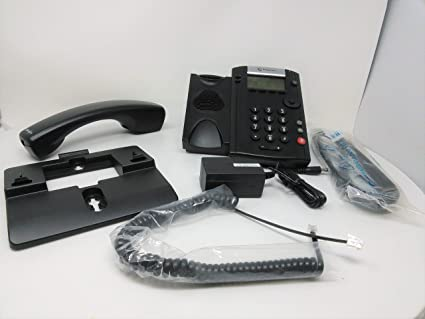 POLYCOM 2200-40450-001 VVX 201 Business Media Phone (PoE) - with Power  Supply Polycom 2200-40450-001