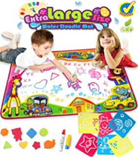 Water Drawing Mat Doodle Colorful Extra Large Size 346 X 228 Inches For Kids Learning