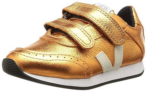 Veja Arcade - Zapatillas para niñas, Color Oro (1156/cooper/cooper), Talla 22: Amazon.es: Zapatos y complementos