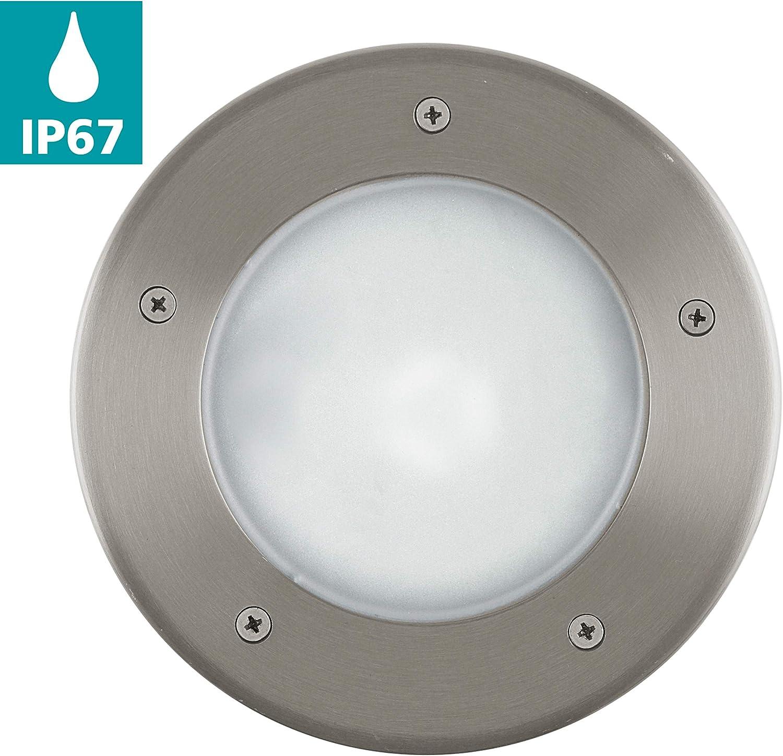 EGLO LED Outdoor Lampada da parete riga gu10 3w ip44 in acciaio inox 92735 giardino cortile