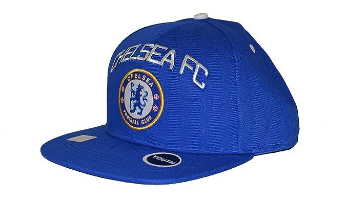 aa2fa9764da Chelsea Fc Snapback Youth Kids Adjustable Cap Hat - White - Blue New Season