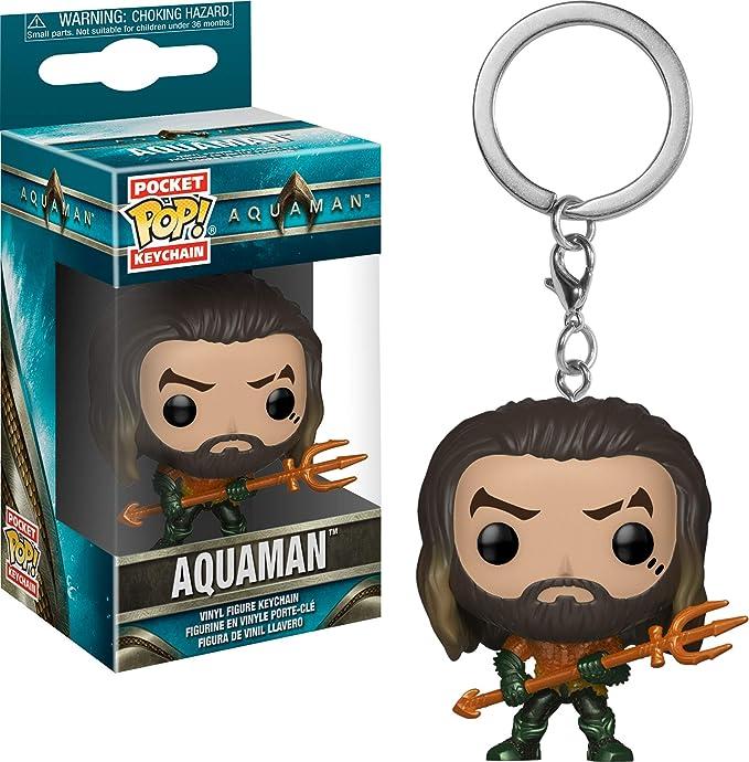 Funko Pop! Aquaman - Keychain Aquaman: Amazon.es: Juguetes y juegos