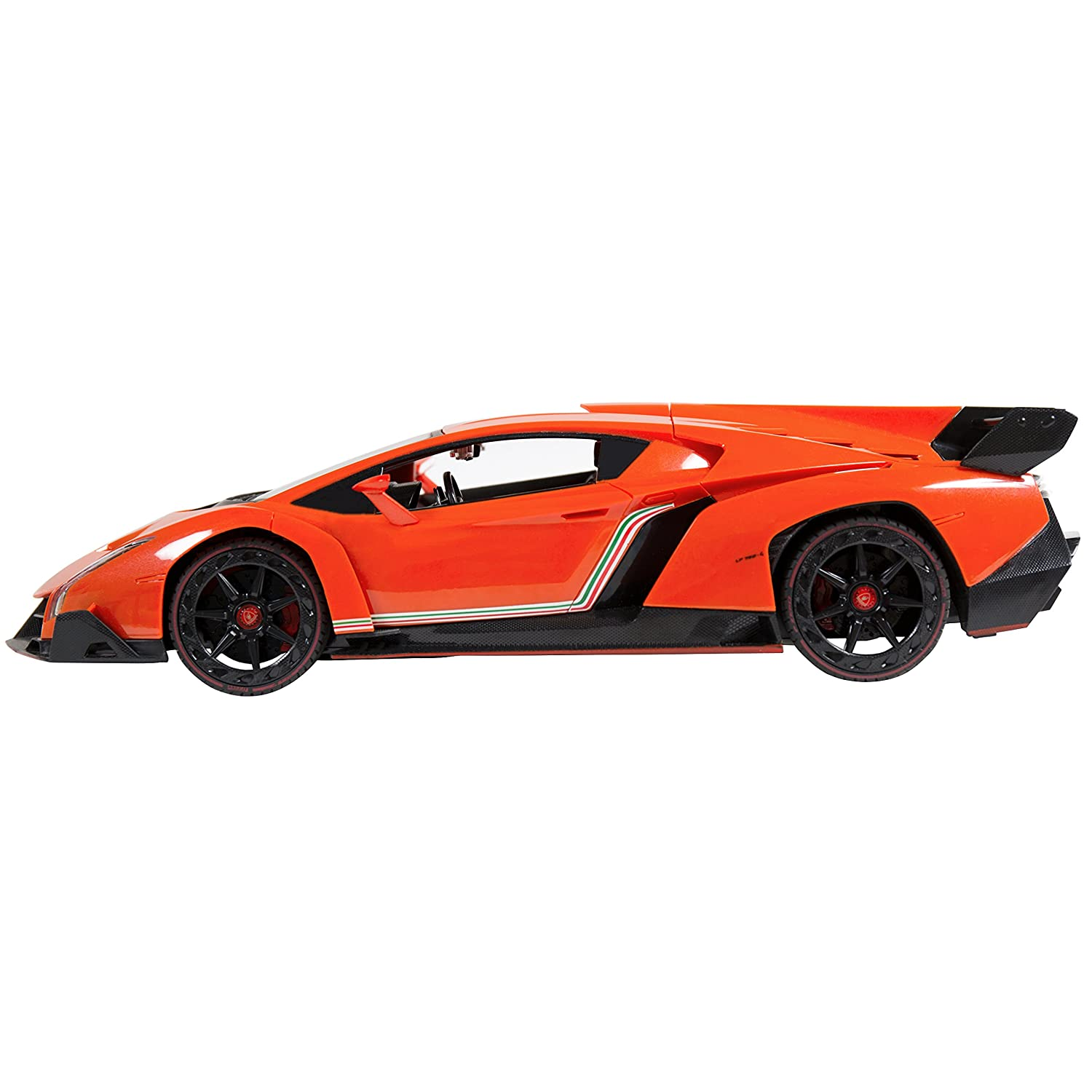 lamborghini veneno black and orange. amazoncom best choice products 114 scale rc lamborghini veneno gravity sensor remote control car orange toys u0026 games black and l