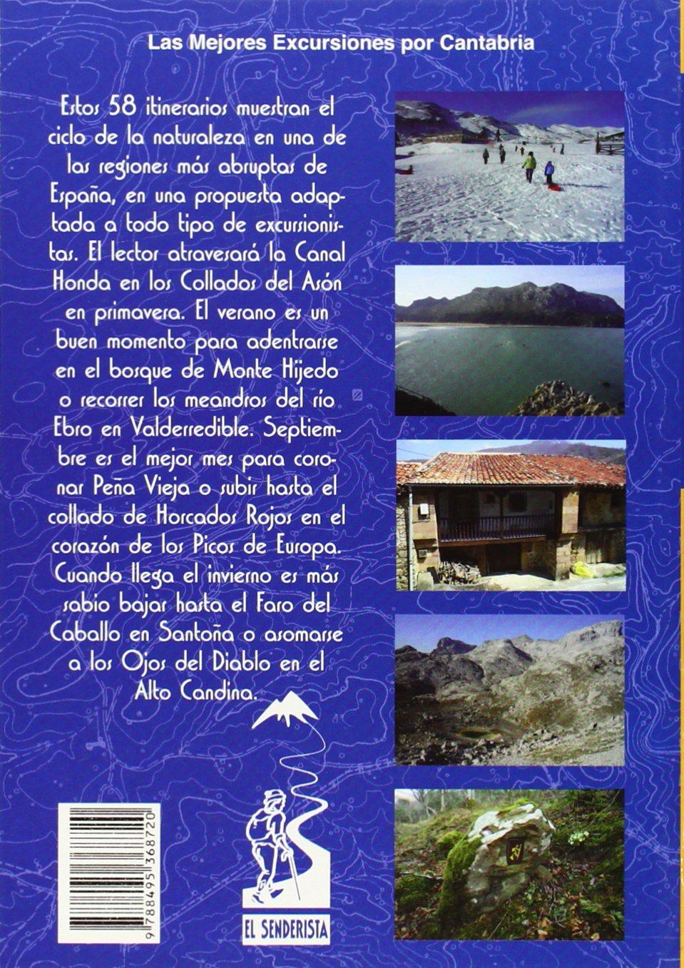 Cantabria. 58 Rutas (Las Mejores Excursiones Por...): Amazon ...