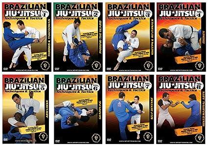 Amazon com: Brazilian Jiu-Jitsu Techniques and Tactics DVD