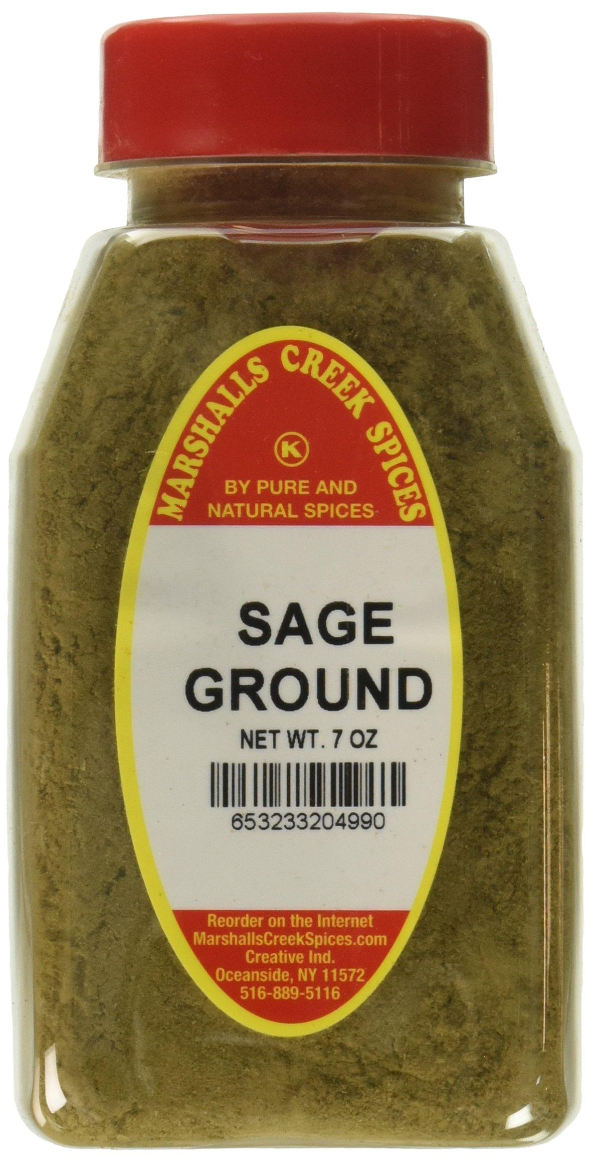 Marshalls Creek Kosher Spices SAGE GROUND 7 oz