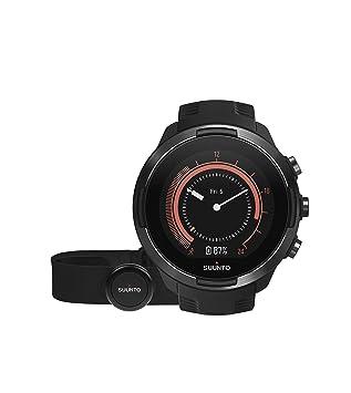 Suunto 9 Baro - Reloj Multideporte GPS, Unisex, Con cinturón de frecuencia cardíaca, Negro, 24.5 cm: Amazon.es: Deportes y aire libre