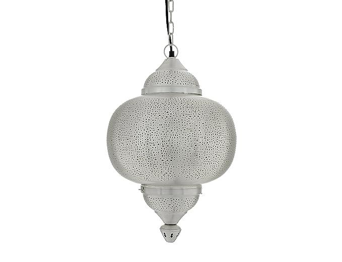 Lámpara de techo colgante estilo marroquí, diseño Matki con ...