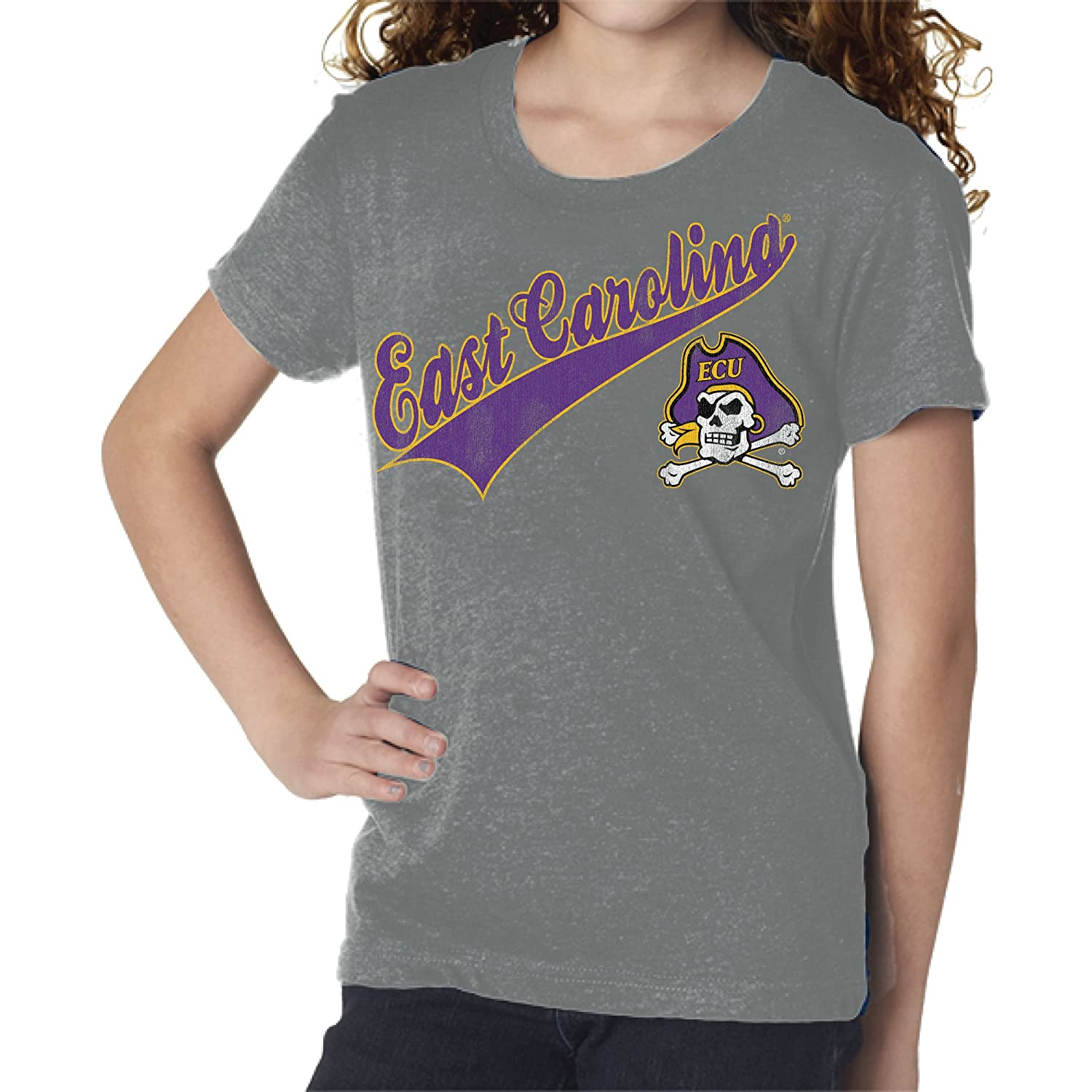 日本未入荷 NCAA East Carolina Tee Pirates Girls Youth Girls Tee, Tee Steel Grey NCAA East Carolina Pirates Youth Girls Tee, Steel Grey, Medium B01NAUFII2, 171オンラインショップ:3bb4757f --- a0267596.xsph.ru