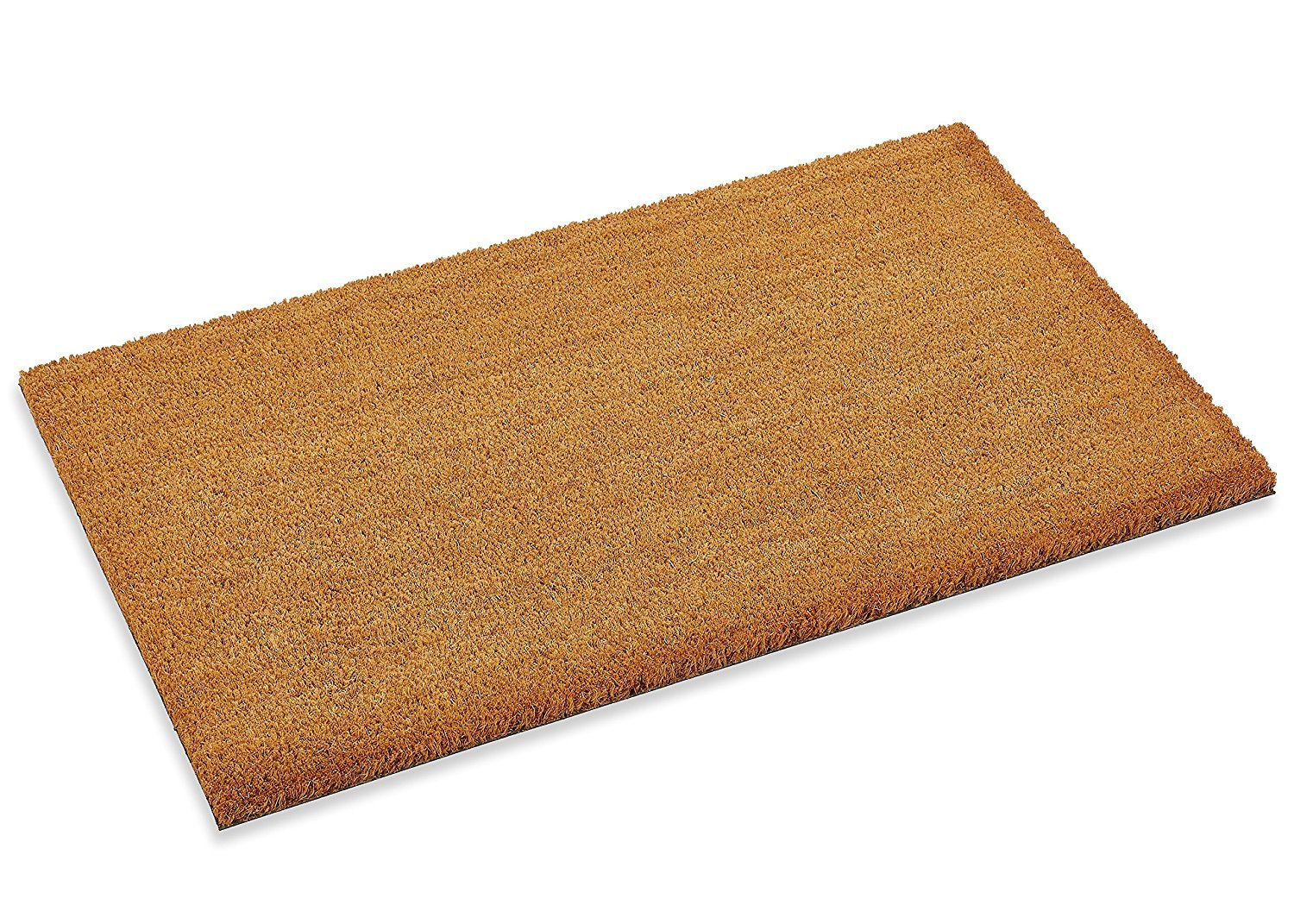 Kempf custom cut 1/2'' inch Thick Coco mat with vinyl backing , great for recessed area entrances (3' x 5')