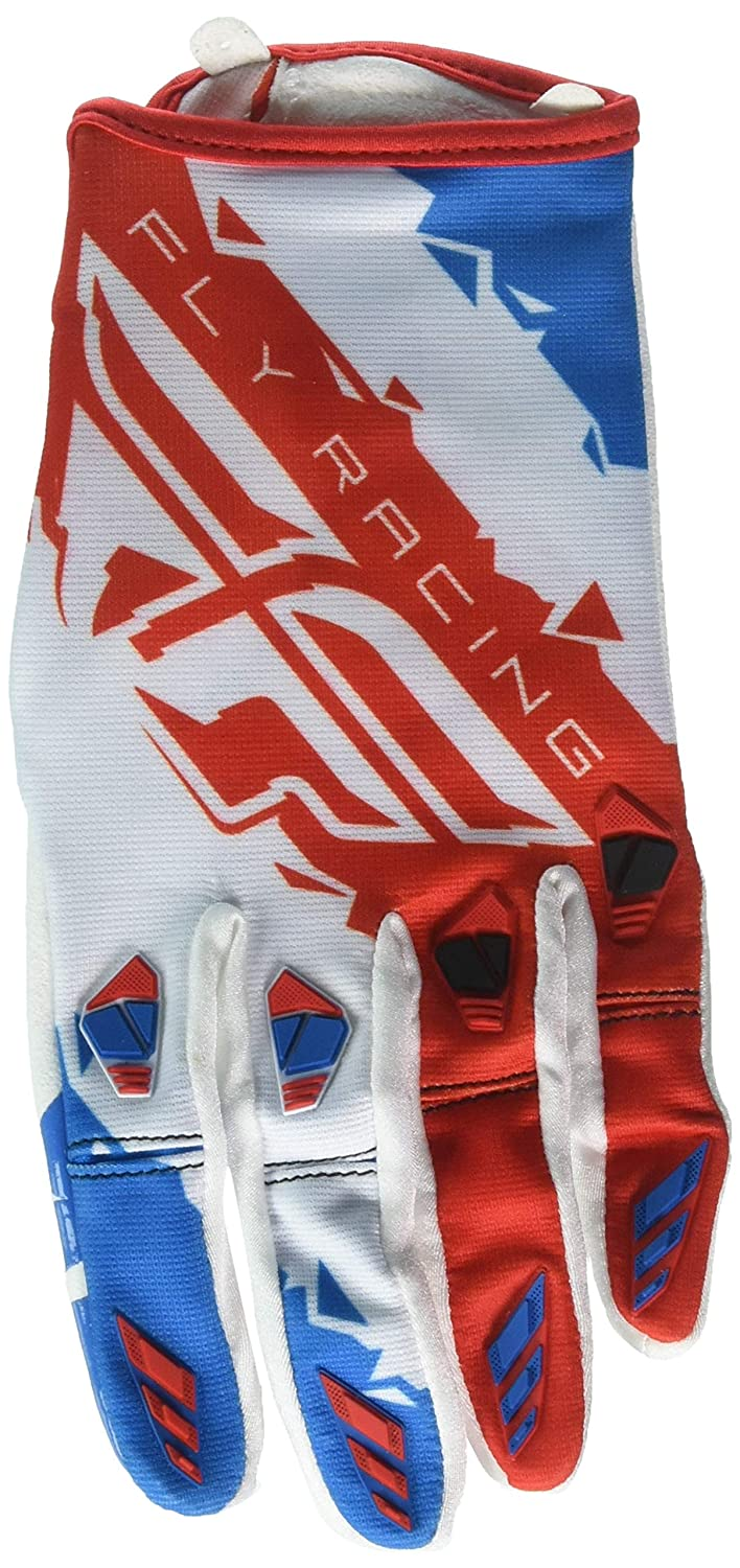 Fly Racing Unisex-Adult Kinetic Gloves Red//White//Blue XX-Large 370-41112