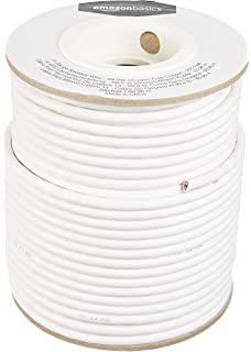 Amazon ce 50 feet 14awg cl2 rated 2 conductor loud speaker amazonbasics speaker wire 14 gauge 999 oxygen free copper 200 greentooth Image collections